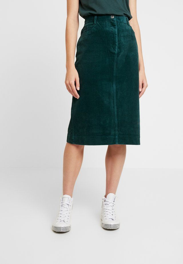 GRACEN - Pouzdrová sukně - darkest spruce