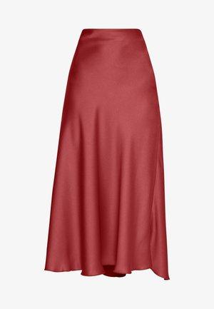 ALBI - A-line skirt - marsala