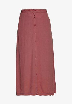 MAISA - Áčková sukně - marsala