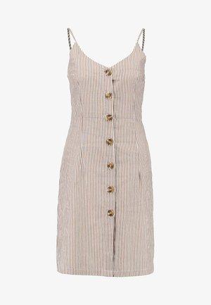 MEDUSA DRESS - Shirt dress - tobacco brown