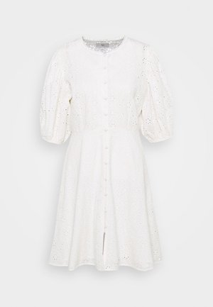 DJUNA DRESS - Denní šaty - snow white