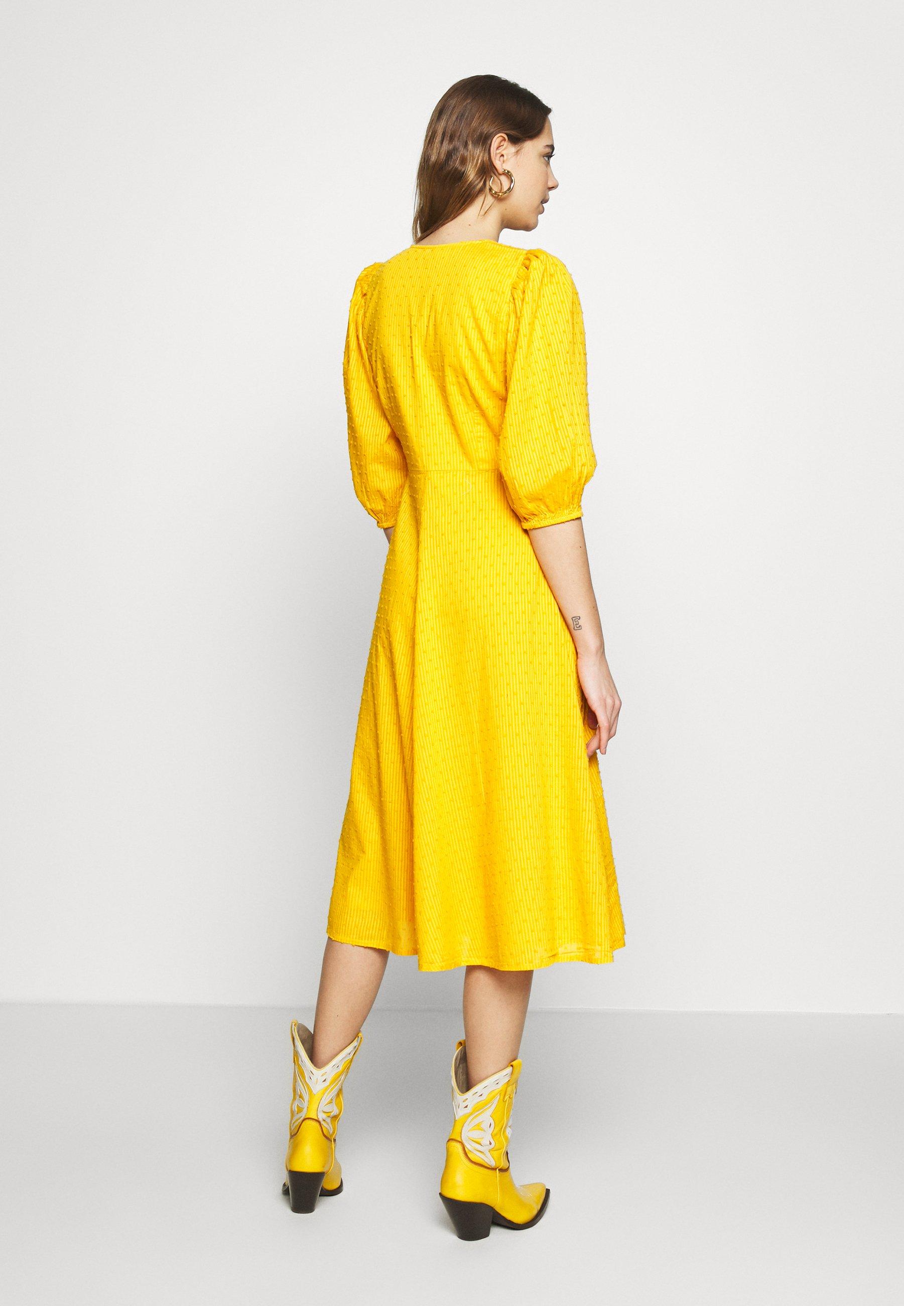 Minimum Elmina - Day Dress Sunflower UK