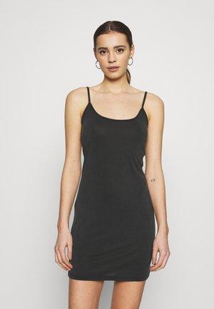 TOPINA - Jersey dress - black