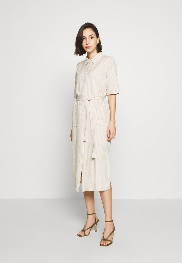 KAIJA - Shirt dress - broken white