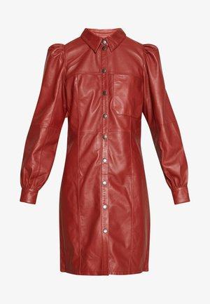 JAYA - Korte jurk - marsala