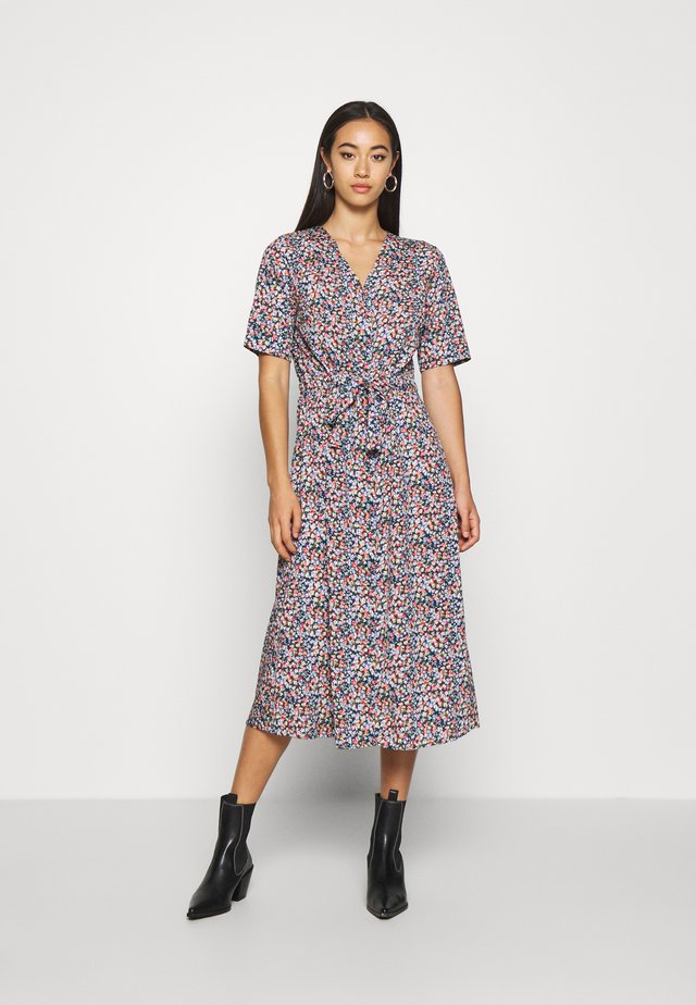 BIOLA - Sukienka koszulowa - teal