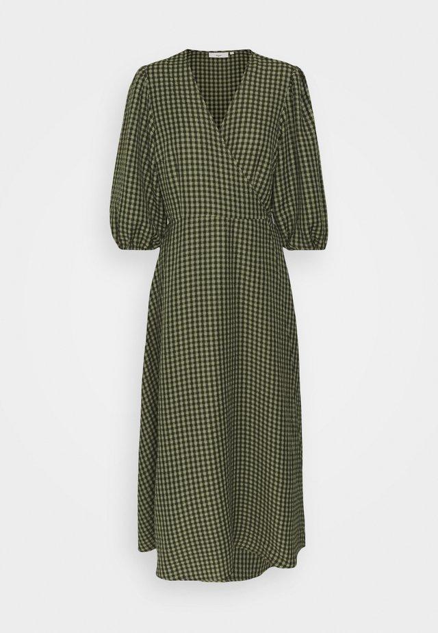 ELMINA - Sukienka letnia - dark olive