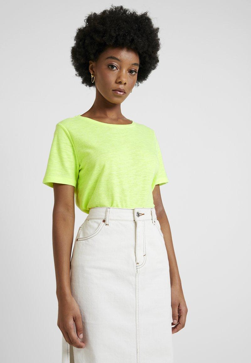 Minimum - KIMMA TEE - T-Shirt basic - yellow