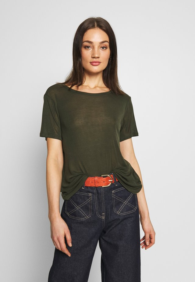 HEIDL - T-Shirt basic - racing green