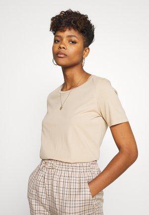 KIMMA - Basic T-shirt - tan