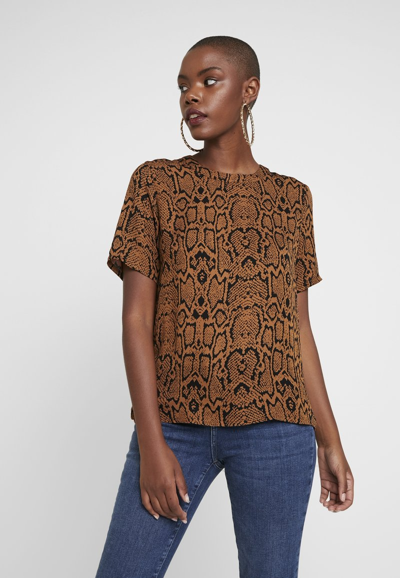 Minimum - ESMA - Blouse - tobacco brown