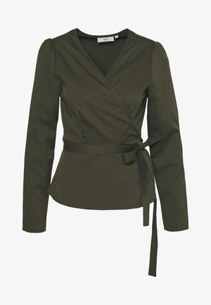 ELASTICO LONG SLEEVED BLOUSE - Bluse - racing green