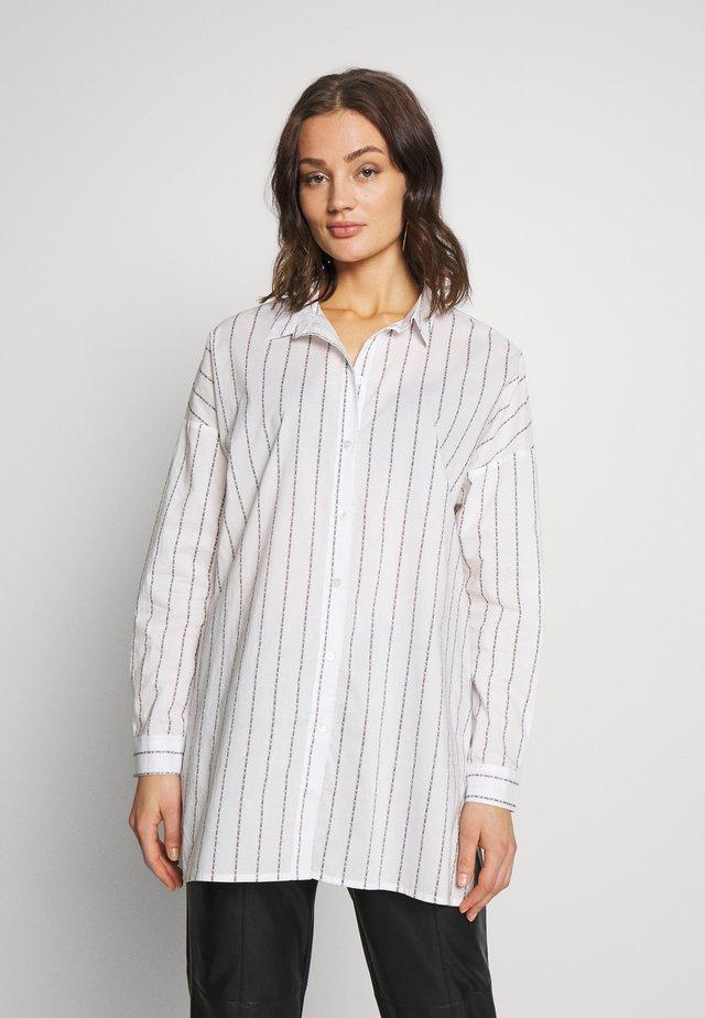 YELLUNA - Button-down blouse - snow white