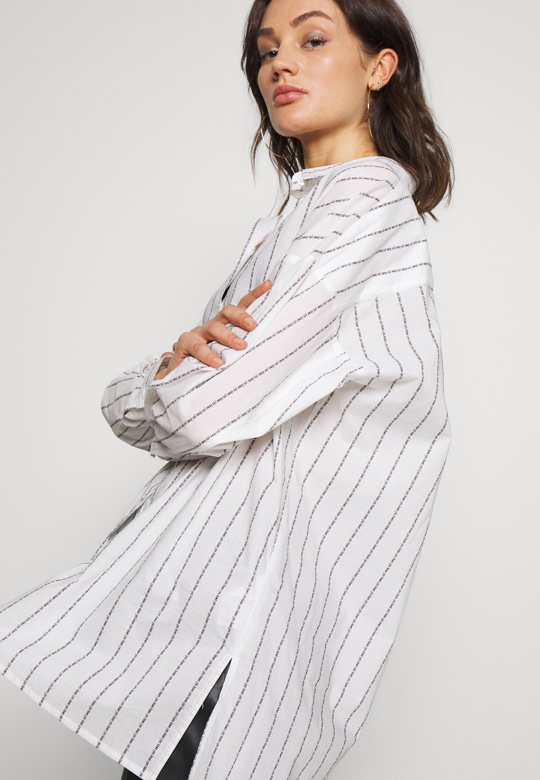 Minimum YELLUNA - Camicia - snow white
