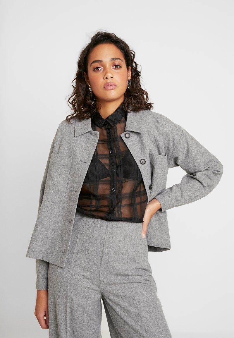 Minimum - PRIYA - Summer jacket - light grey melange