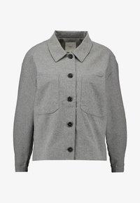 Minimum - PRIYA - Summer jacket - light grey melange - 4