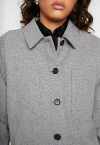 Minimum - PRIYA - Summer jacket - light grey melange - 5