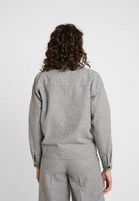 Minimum - PRIYA - Summer jacket - light grey melange - 2