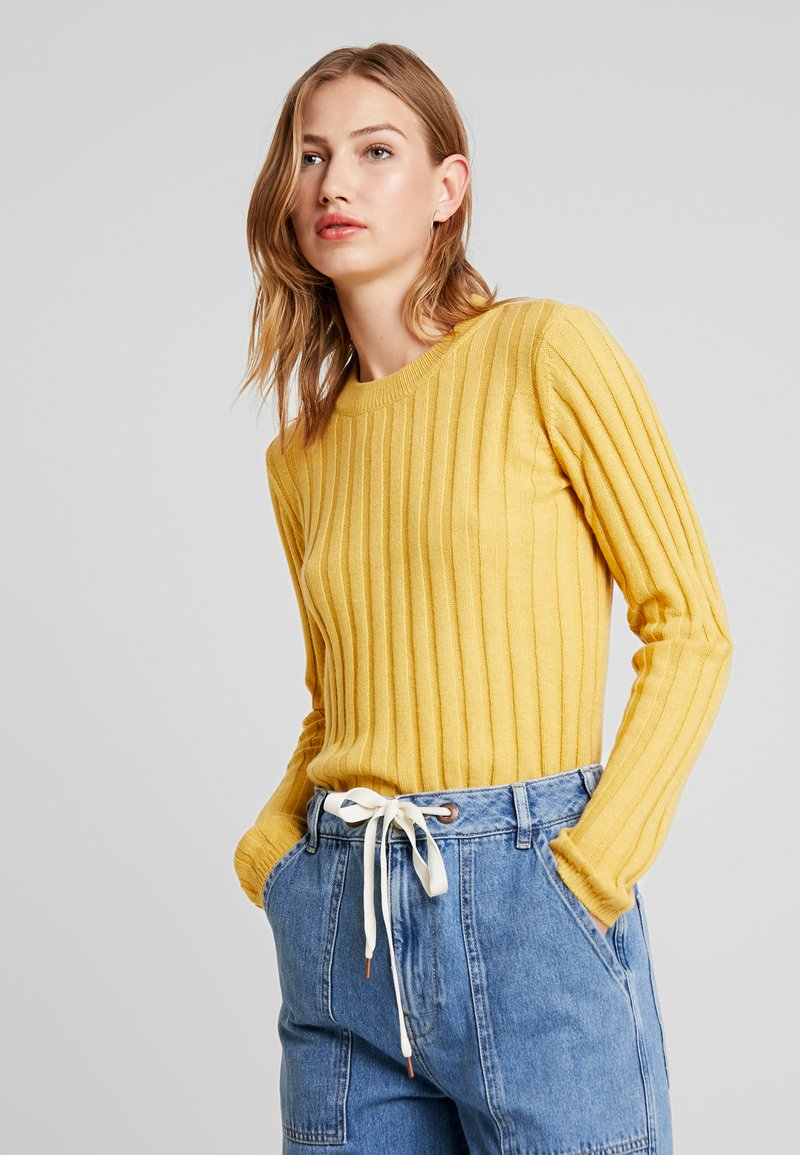 Minimum - BASTA - Strickpullover - misted yellow