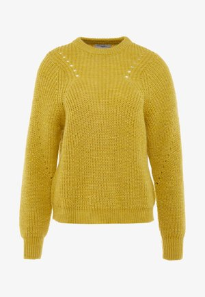 ALLIREA - Jumper - misted yellow