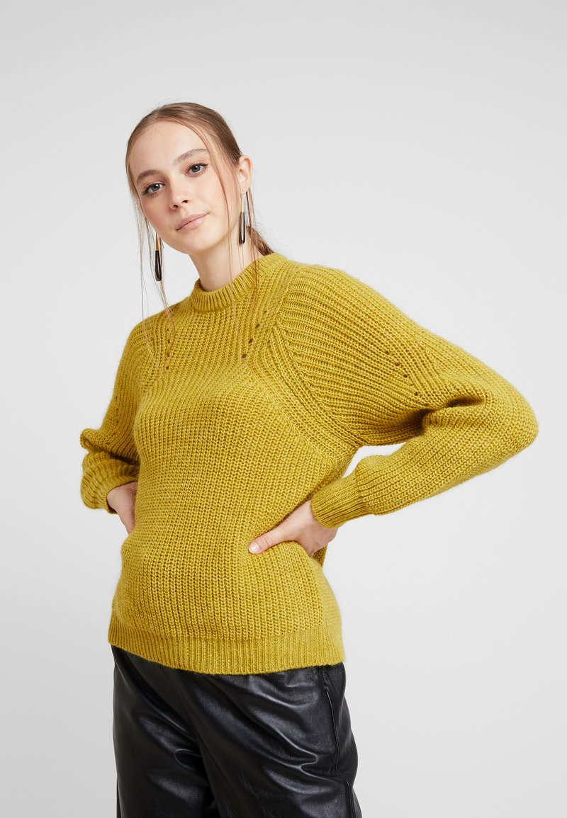 Minimum - ALLIREA - Jumper - misted yellow