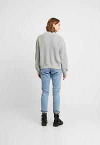 Minimum - AFFIE  - Cardigan - light grey - 2