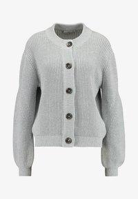 Minimum - AFFIE  - Cardigan - light grey - 4