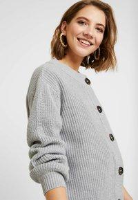 Minimum - AFFIE  - Cardigan - light grey - 3