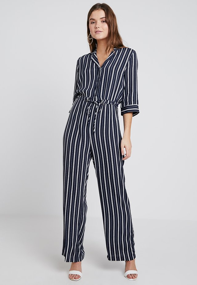 VINIDA - Jumpsuit - navy blazer