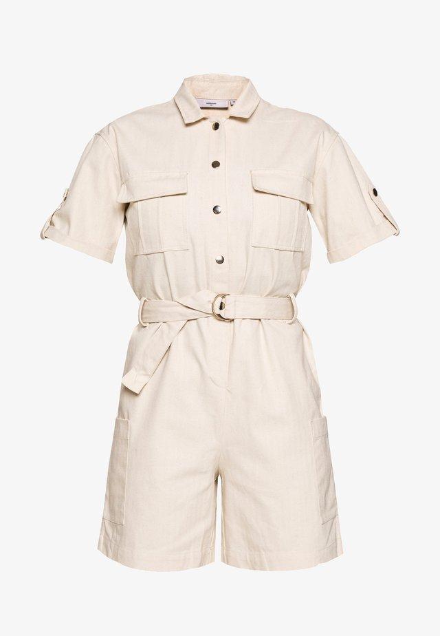 SILLU - Tuta jumpsuit - broken white