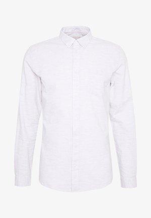 JAY - Shirt - white/grey