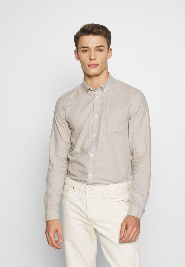 JAY - Overhemd - stone melange
