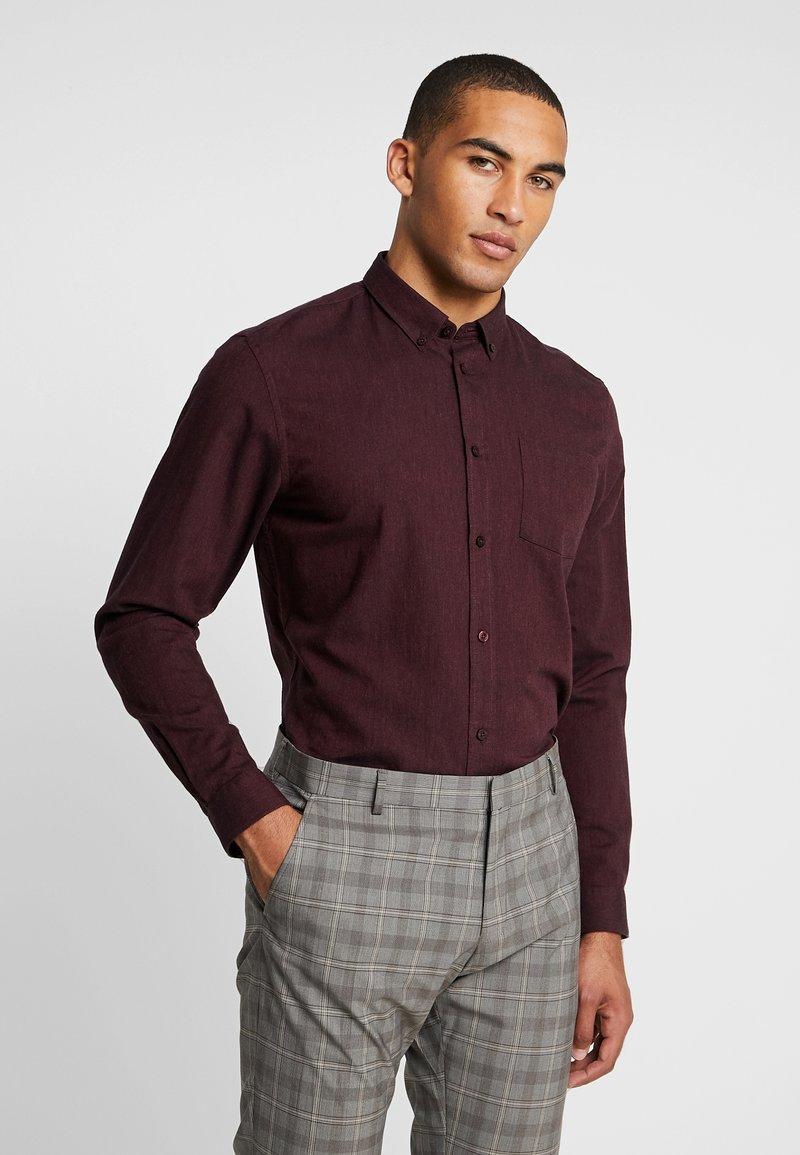 Minimum - JAY - Shirt - bordeaux melange