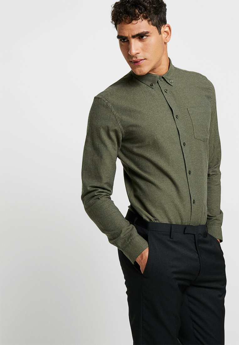 Minimum - JAY - Overhemd - drab melange