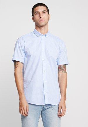 ALEKSANDER - Shirt - soft blue melange