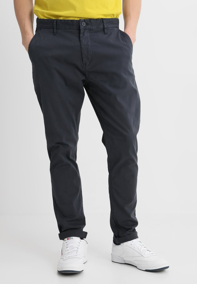 NORTON - Trousers - navy blazer