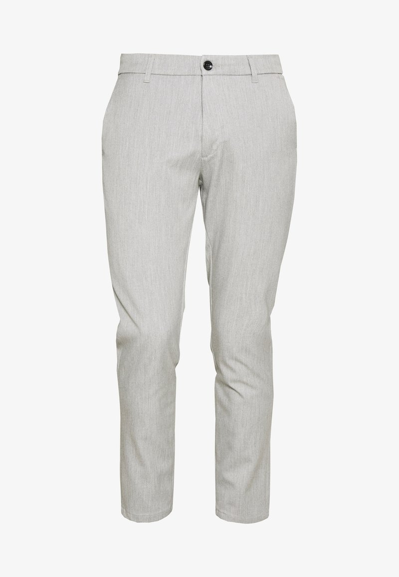Minimum UGGE - Bukse - light grey melange