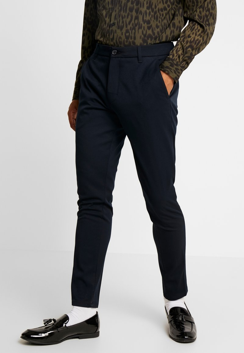 Minimum - UGGE - Trousers - navy blazer