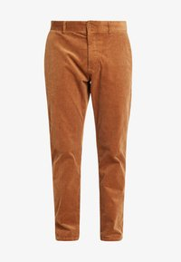 Minimum - MODEL TWO - Trousers - tobacco brown - 4