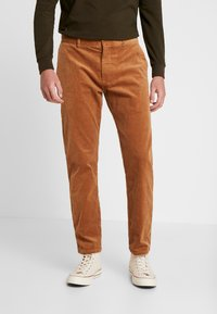 Minimum - MODEL TWO - Trousers - tobacco brown - 0