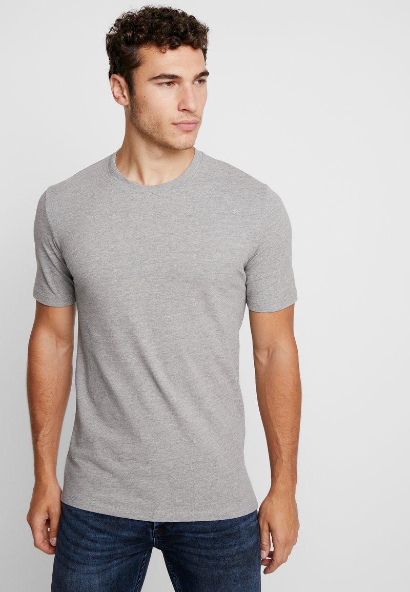 Minimum - SIMS - Basic T-shirt - light grey melange