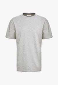 Minimum - AARHUS - T-shirt basic - light grey melange - 3