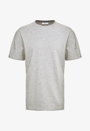 AARHUS - Basic T-shirt - light grey melange