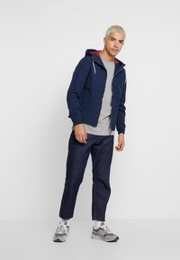 Minimum - AARHUS - T-shirt basic - light grey melange - 1