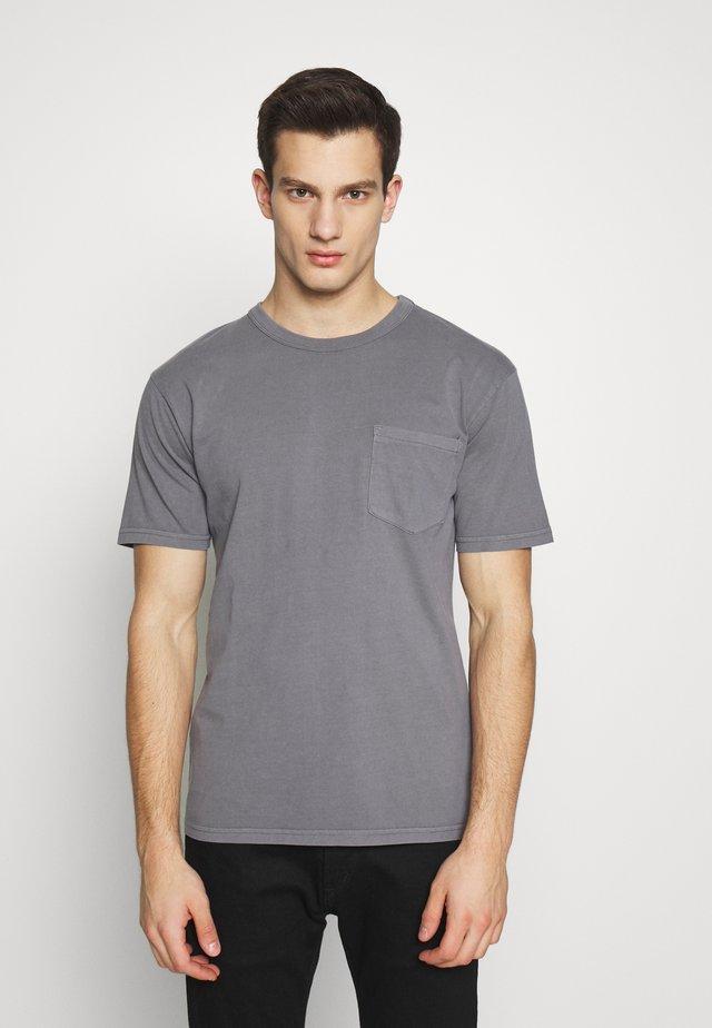 HARIS  - T-shirt basic - grey