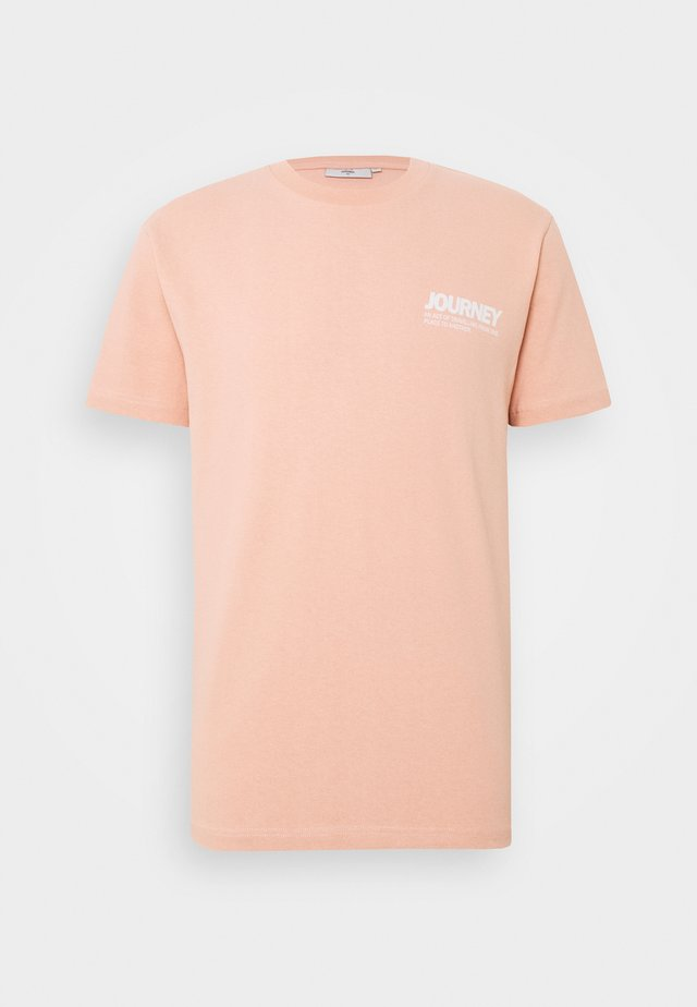 AARHUS  - Print T-shirt - dusty pink