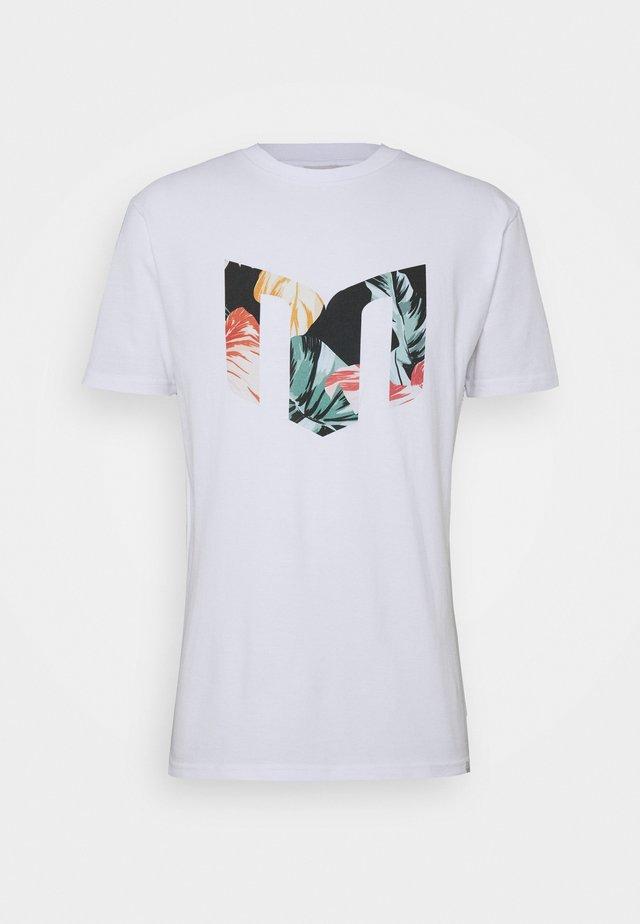 AARHUS  - T-Shirt print - white