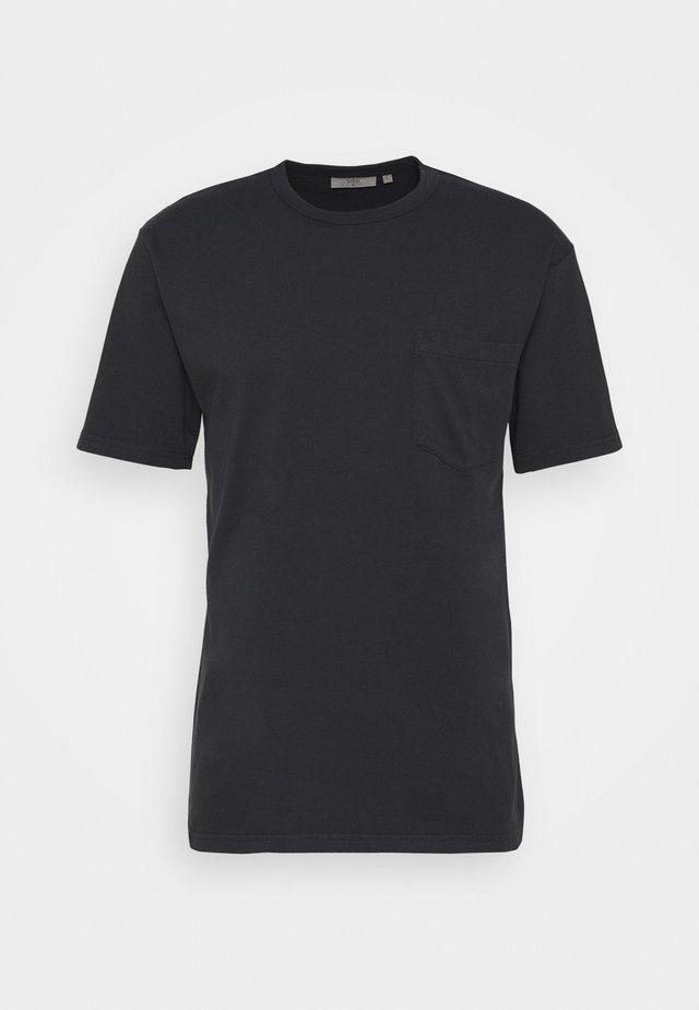 HARIS - T-Shirt basic - black