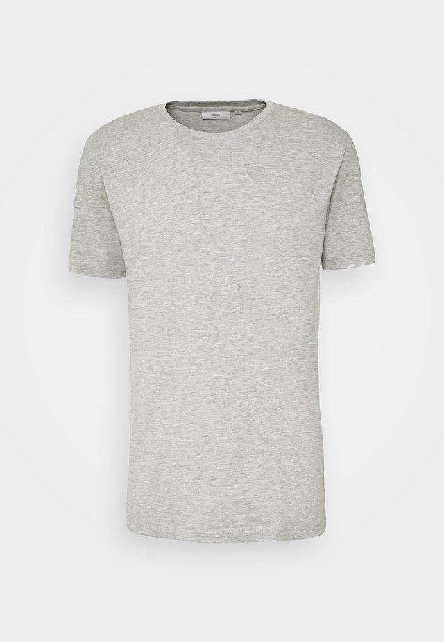 LUKA  - T-shirt - bas - light grey melange