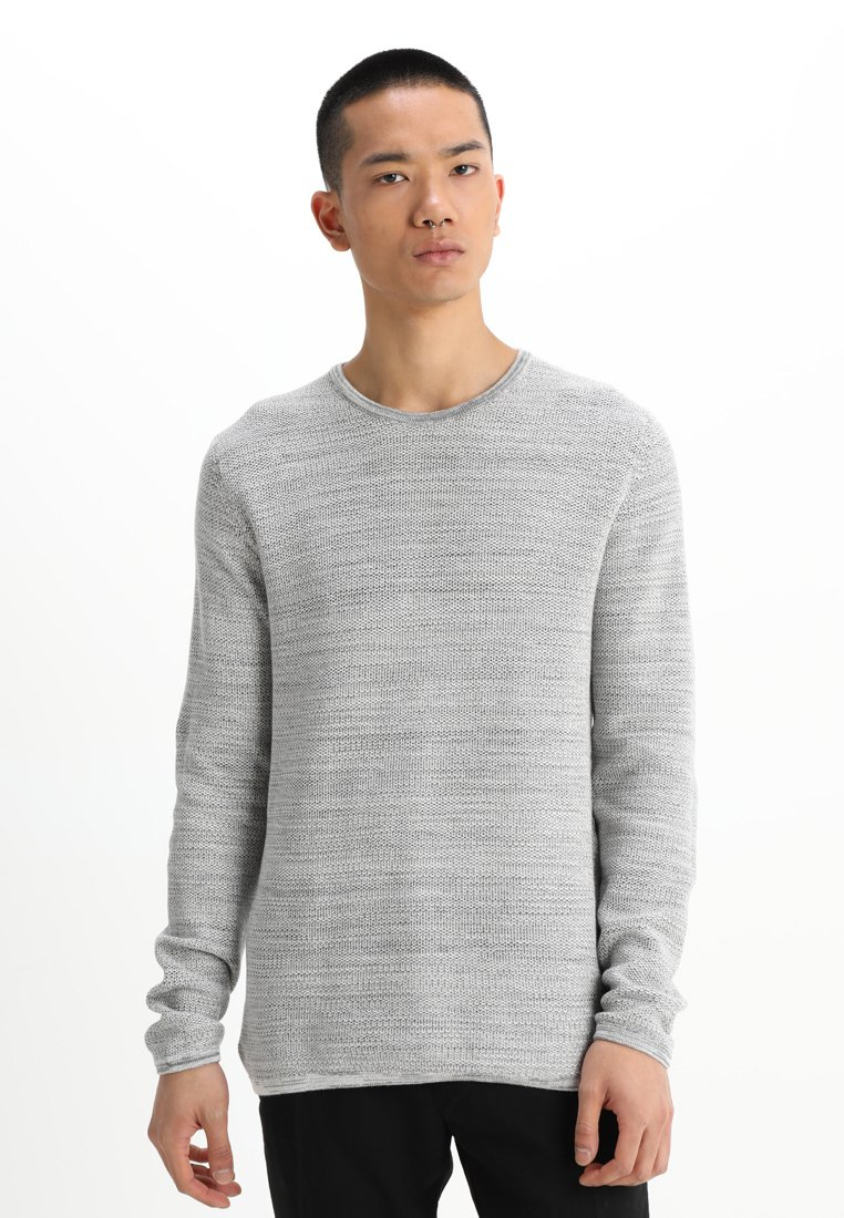 Minimum - REISWOOD - Strickpullover - light grey melange